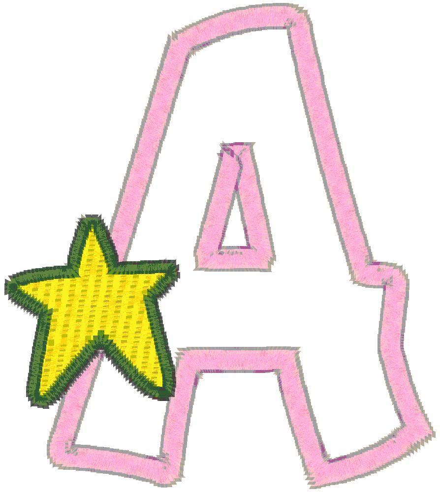 ABC Cute Baby Applique