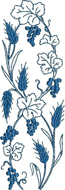 Grapes Wheat