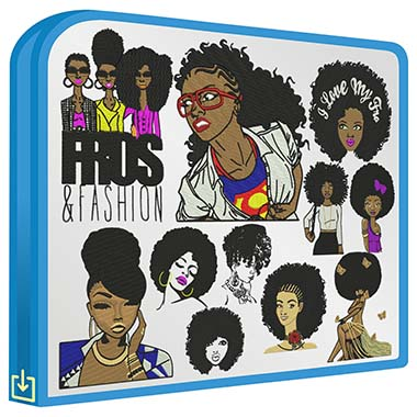 Afro Girl Vol.1