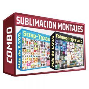 Sublimation Montage 2Pk