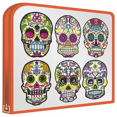 Mexican Skulls V1