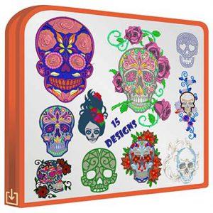 Mexican Skulls V2